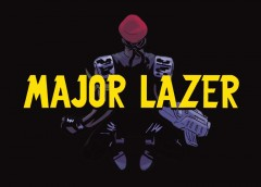 "Affichage libre pour l'album ""Peace is the mission"" du groupe Major Lazer."