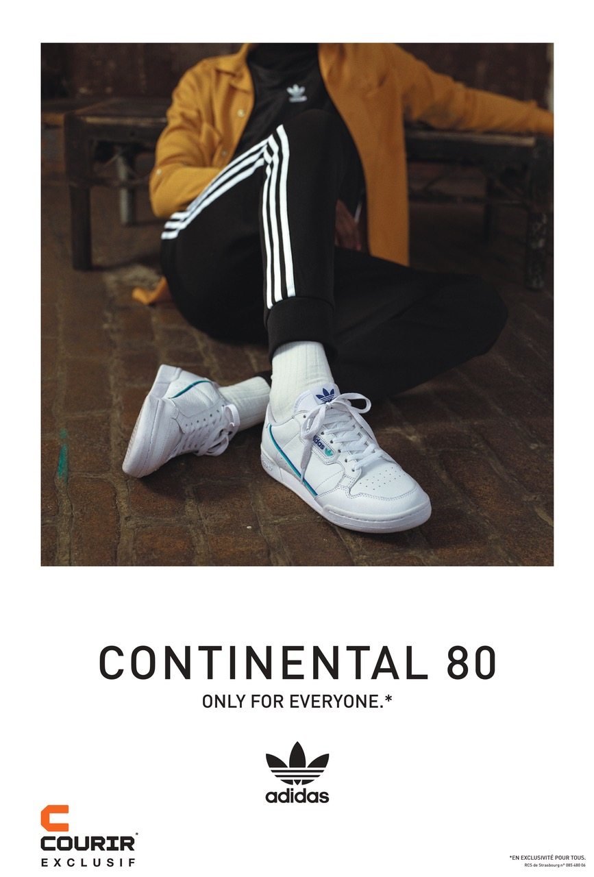 Campagne COURIR / ADIDAS «Continental 80»
